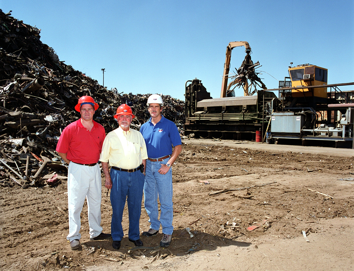 Ben Sacco and Son at Sierra Recycling and Demolition