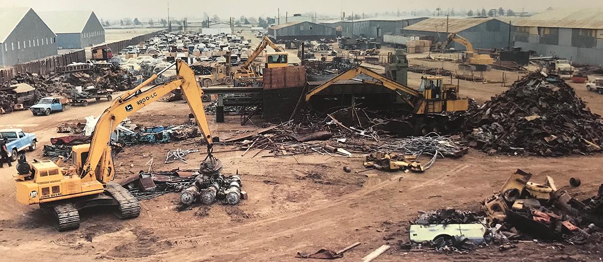 Sierra Recycling and Demolition yard 60 years ago